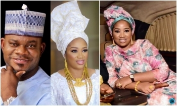 Governor Yahaya Bello divorces third wife, Hafiza